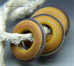 (3) Terra Cotta Ring Discs
